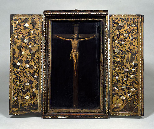Shrine for crucified Christ.